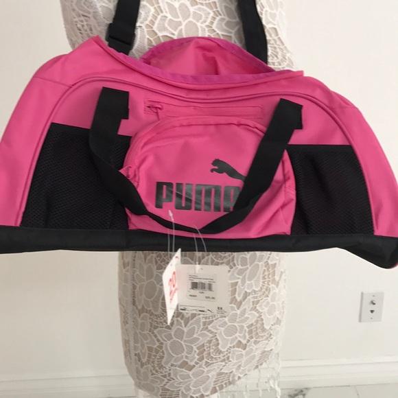 13bc16db45 Puma hot pink gym bag. NWT. Puma. M_5a8dd572a825a6907b7c34d0.  M_5a8dd579b7f72b35ae251166. M_5a8dd58805f4307c0ffb6974.  M_5a8dd5c29d20f0ca25e54bf7